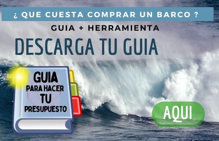 olas del mar en letrero para descargar una guia