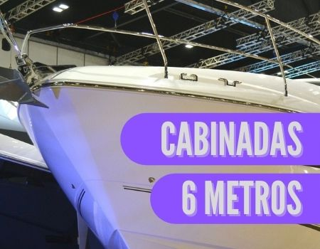 barca cabinada de 6 metros