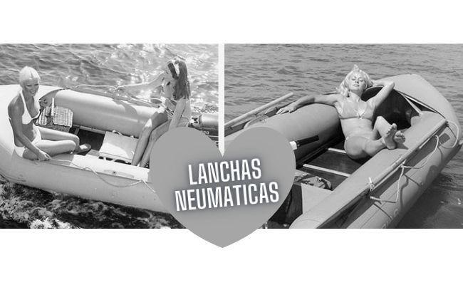 imagenes antiguas de lancha neumatica plegable